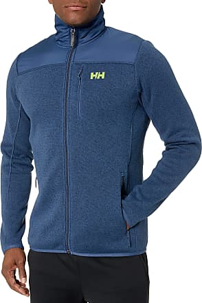 Helly Hansen Mens Varde Fleece Jacket Track, Blue (Azul 603), Large
