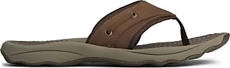 Sperry Top-Sider Top-Sider - Mens Outer Banks Thong Hanging, 8 UK, Brown