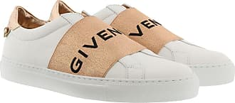 Givenchy Sneakers - Givenchy Paris Metallized Strap Sneakers Leather Bianco Rame - white - Sneakers for ladies