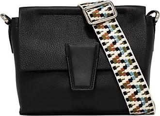 Gianni Chiarini small size elettra crossbody bag color black