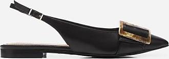 Flattered Alma Leather Black