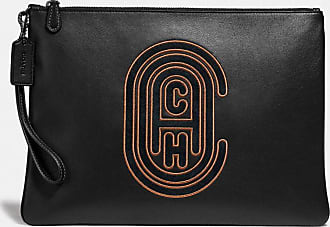 Coach Pouch 30 With Patch in Black