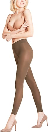 Falke Womens Pure Matt 50 DEN W LE Hosiery, Green (Military 7826)