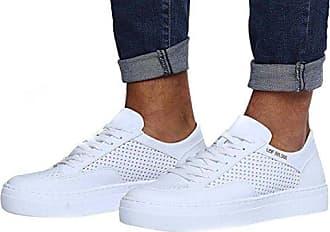 LEIF NELSON Herren Schuhe Freizeitschuhe elegant Winter Sommer Freizeit Schuhe Männer Sneakers Sportschuhe Laufschuhe Halbschuhe LN154; Größe 40, Weiß