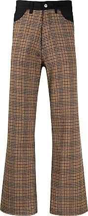 Our Legacy Pantaloni con motivo pied-de-poule - Color marrone