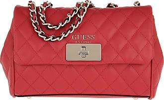 7871a20b25b08 Guess Sweet Candy Convertible Crossbody Bag Red Umhängetasche rot