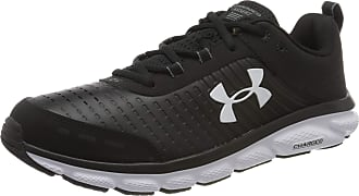 Under Armour Mens Charged Assert 8 LTD Sports Trainers, Jogging Shoes, Black (Black/White/White), 6.5 UK 40.5 EU