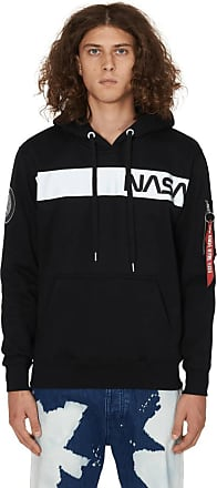 Alpha Industries Alpha industries Nasa hooded sweatshirt BLACK M