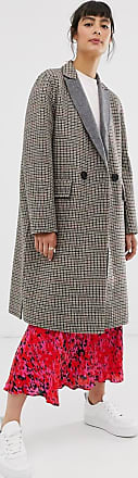 Whistles check double faced coat-Multi