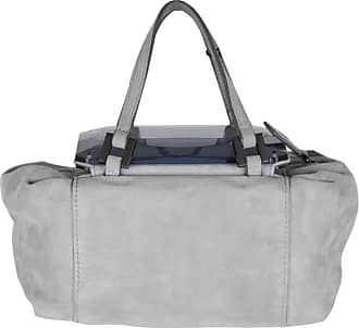2bab14c107cb Fendi Gray Grey Suede To You Bag Mini Duffle Mirrored Handbag