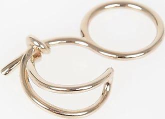 Balenciaga Golden Tone Ring size Unica
