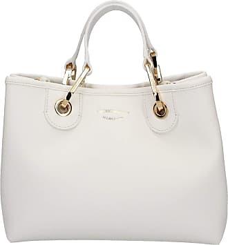 Emporio Armani Emporio armani - 88481 shopping bag bianco/cuoio Y3D166YFO5B