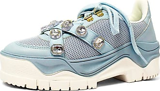 Damannu Shoes Tênis Pedraria Lilian Azul - Cor: Azul - Tamanho: 36