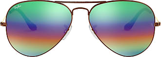 Ray-Ban Unisex Rb 3025 Sunglasses, Bronze, 58, Copper(Flash Lenses )