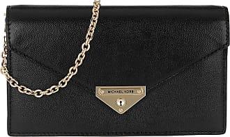 Michael Kors Clutch - Grace MD Envelope Clutch Black - black - Clutch for ladies