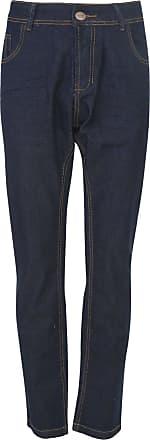 Zune Jeans Calça Jeans Zune Slim Pespontos Azul