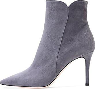 EDEFS Damen Stiefel,Kurzschaft Stiefeletten,Damen Ankle Boots,High Heels  Schuhe mit Reißverschluss 7f5344ea04