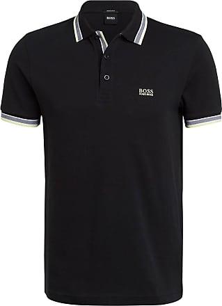 BOSS Piqué-Poloshirt PADDY Regular Fit - SCHWARZ