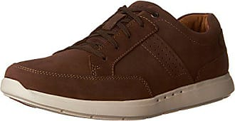 Clarks Mens Unlomac Lace Loafers, Brown Nubuck, 9.5 M US