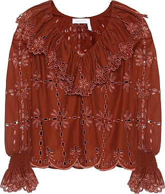 See By Chloé Cotton eyelet lace top