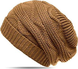 9f2e7039f61348 CASPAR Fashion CASPAR MU115 Damen grob gestrickte Winter Mütze/Strick  Beanie/Strickmütze, Farbe
