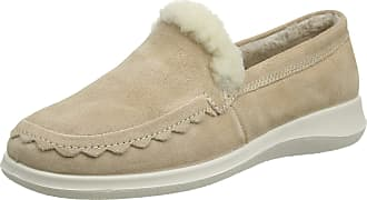 Hotter Womens Lush Low-Top Slippers, Off-White (Cream 108), 9 (43 EU)