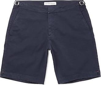 Orlebar Brown Dane Stretch-cotton Twill Shorts - Navy