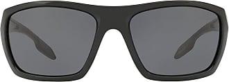 Prada Óculos de sol retangular - Preto