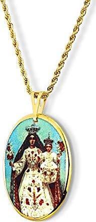 Design Medalhas Pingente Medalha Nossa Senhora Glória Ouro