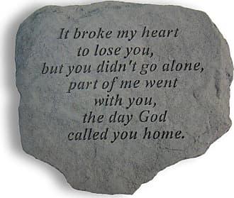Kay Berry It Broke My Heart Memorial Stone - 60820