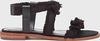 Kelsi Dagger Reggie Sandals Black Leather WomenS Sandal 9.5