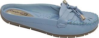 Comfortflex Mule Feminina Comfortflex 1773402 Couro