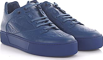 Balenciaga Sneakers Arena low leather blue crinkled 70e17db919db