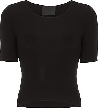 Wone Camiseta decote careca - Preto