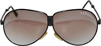 79c06e70b81d 1stdibs Ferarri Black Lucite Frame Folding Sunglasses With Case