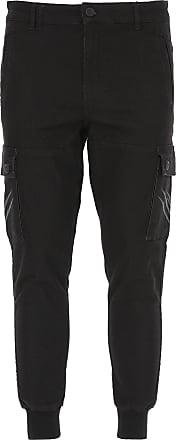 Philipp Plein Jeans, Black, Cotton, 2017, M XL