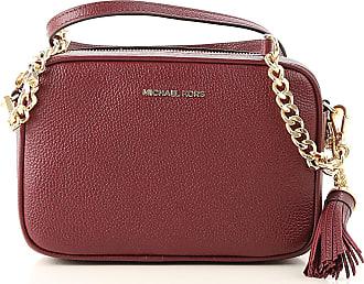 72763037a39b Michael Kors Shoulder Bag for Women On Sale, oxblood, Leather, 2017, one