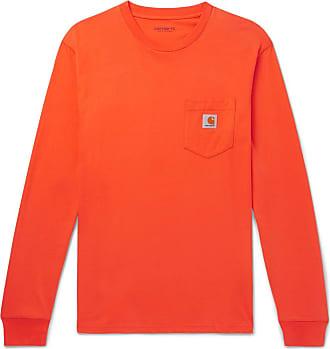 Carhartt Work in Progress Cotton-jersey T-shirt - Orange