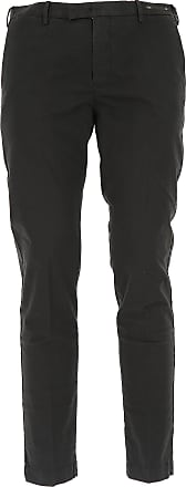 PT01 Pants for Men On Sale, Black, Cotton, 2017, 34