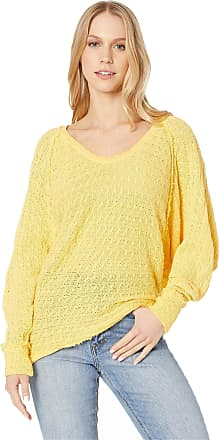 Free People Thiens Hacci T-Shirt Yellow XS (Womens 0-2)