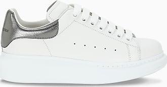 Alexander McQueen Sneaker da donna Oversize bianca/argento