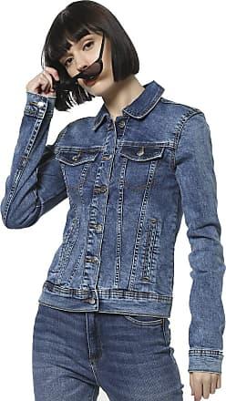 Jacqueline de Yong Womens Jdyfaria Stretch Jacket Mb DNM Noos, Blue (Medium Blue Denim Medium Blue Denim), 16 (Size: X-Large)