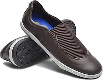 Di Lopes Shoes Sapatênis Marte Flay 100% Couro (39, Preto)