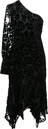 Natori Vestido Burnout de veludo - Preto