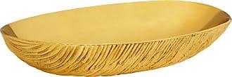 Jonathan Adler Brutalist Brass Bowl - Large