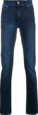 7 For All Mankind Calça jeans corte reto - Azul