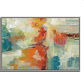 Tangletown Fine Art Coral Reef Gallery Wrap Canvas White/Blue/Red/Orange
