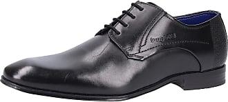 Bugatti Derby Schnürschuh Business Schuhe schwarz