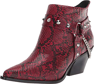 Jessica Simpson Womens Zayrie Fashion Boot, Wicked Red, 9 UK