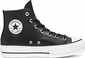 dfd8ba6214 Converse CHUCK TAYLOR ALL STAR LIFT HI CLEAN Leather DONNA